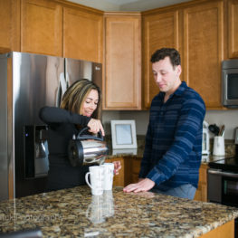 at-home lifestyle couples session